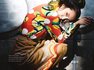 Photo : Kazuhisa Taniguchi Model : Mari Hirao